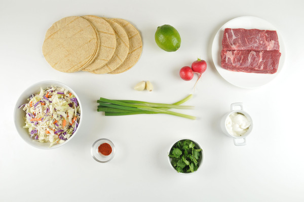 Flat-Iron Steak Tacos Recipes — Dishmaps